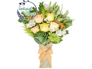 1 to 11 Yellow Roses In Bouquet
