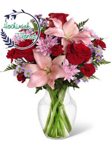 1 to 11 Red Roses In A Vase