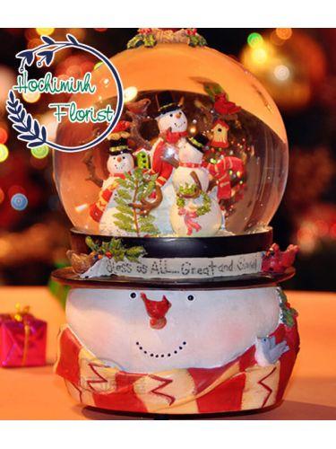 Merry Snow Globe