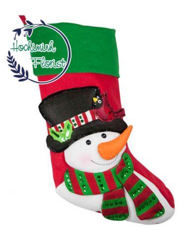 Cute Snowman Sock