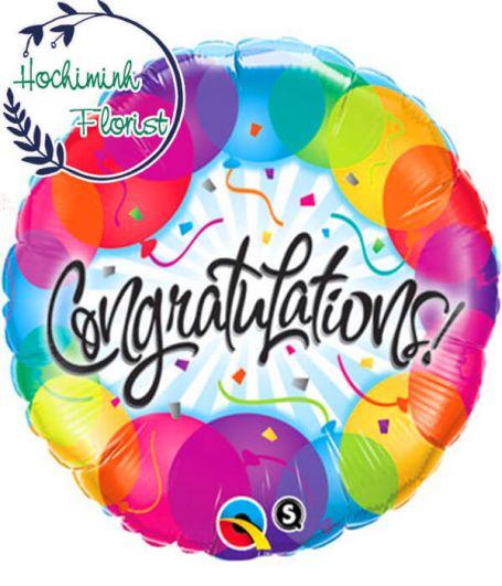 Congratulations Baloons