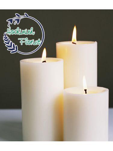 3 Pcs Candles Set