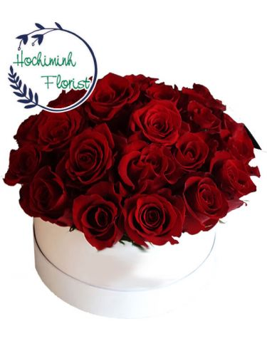 Five Dozen Red Roses In A Box