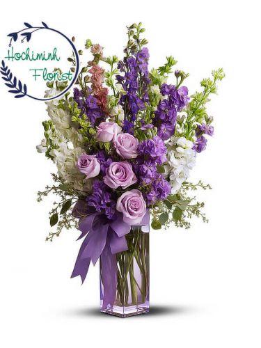 Purple Dream In A Vase