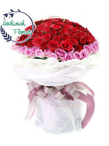 Because of you (101 Roses)