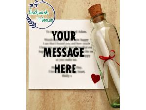 Send Your Valuable Personalized Letter In A Bottle