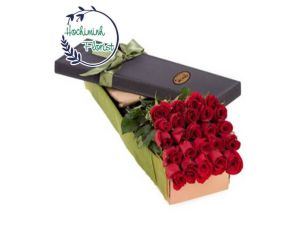 3 Dozen Red Roses In A Box